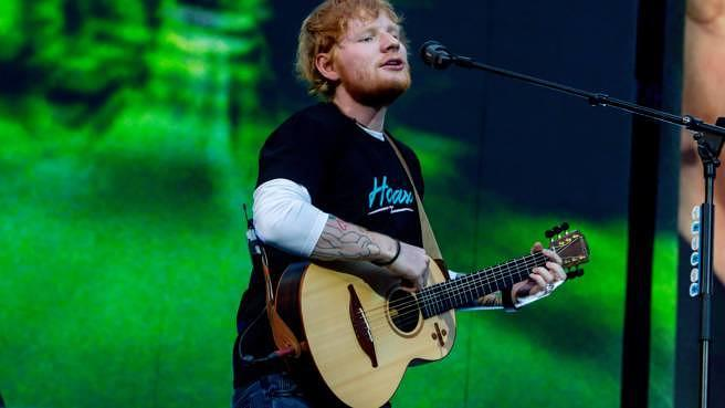 Ed Sheeran live in Madrid im Juni 2019