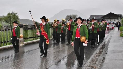 """Hl. Erstkommunion 2014 in Untermieming - """"...lass' auf allen Wegen, Segen auf uns regnen"""", Foto: Michaela Maurer"""