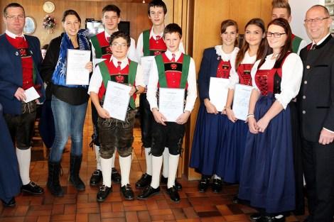 Cäcilia-Messe und Cäcilienfeier - Musikkapelle feiert den Abschluss des Musikjahres 2014, Foto: Knut Kuckel