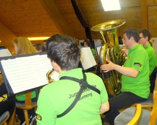 Jugendmusik-Konzert Tobadill 2015