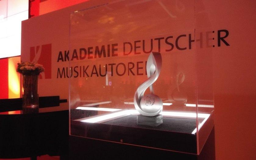 Deutscher Musikautorenpreis 2017. Foto: Hufner