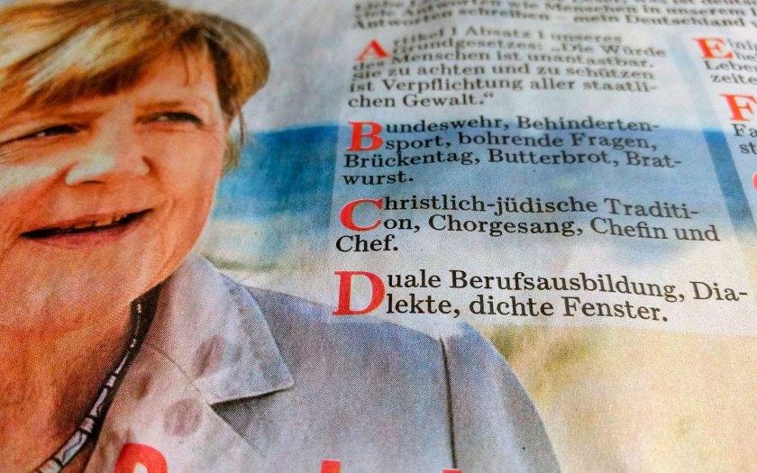 Presseorgan der Kanzlerin. Die BILD-Zeitung