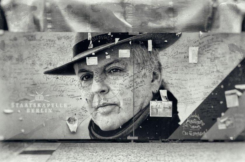 Plakat Daniel Barenboim. Foto: Hufner
