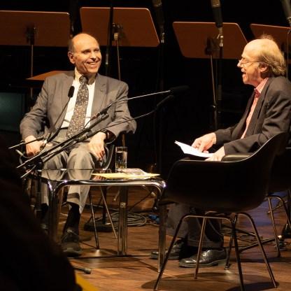 """Seelenmusik: Der Komponist Samuel Adler zu Gast bei """"musica reanimata"""". Foto: Hufner"""
