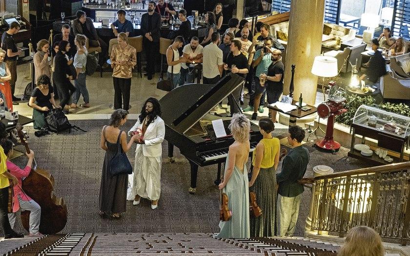 Music for Hotel Bars – zwischen Gesamtkunstwerk und Muzak. Foto: Hufner