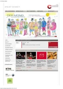Die Theater Chemnitz. Website 2014