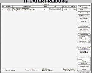 Ticketshop Theater Freiburg