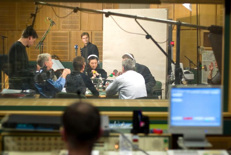 das ist taktlos 129: Studio. Foto: Hufner