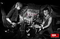 The Underruners supporting Devilish Presley on their farewell to
