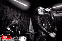 Nordic alternative rock band Grave Pleasures performed live in London