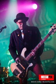 Dave Barbarossa's new project, the alternative band Cauldronated, performed live at The Garage in London supporting The Woodentops.