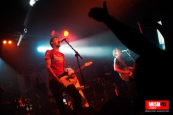 British alternative rock band jesus Jones performed live at The Garage in London