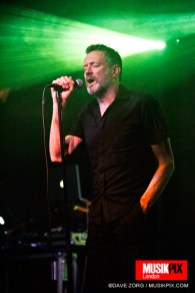 Synth band Blancmange performed live at The Garage in London, as part of their Commuter 23 tour.