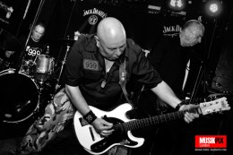 Punk band 999 performed live at the Dublin Castle in Camden Town, London