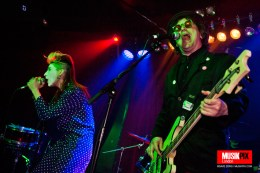 Alternative electro punk band Cauldronated performed live at The Finsbury in Manor House, London