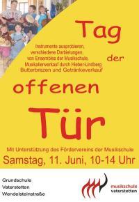 Tag der offenen Tr in Vaterstetten | Musikschule ...