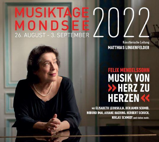 Elisabeth Leonskaja Musiktage Mondsee