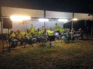 Die Bigband bei Nacht