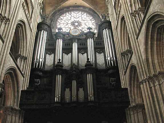 orgue cathédrale de rouen