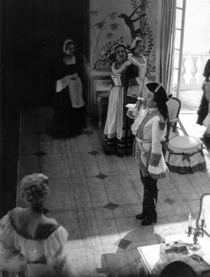 Solange Michel dans Marion ou La Fille au tricorne