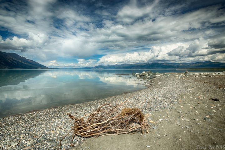 Kluane Lake Campground Beach