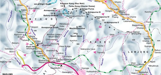 annapurna-circuit-trekking-map