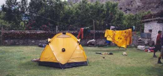 Marpha campsite