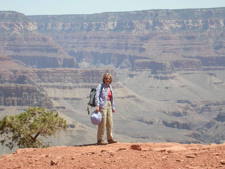 Stacey Wittig at Grand Canyon