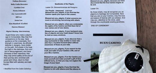 Program for the Anchorage Pilgrim Shell Ceremony
