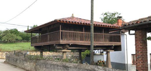 Horreo (Asturias cached to store grains)