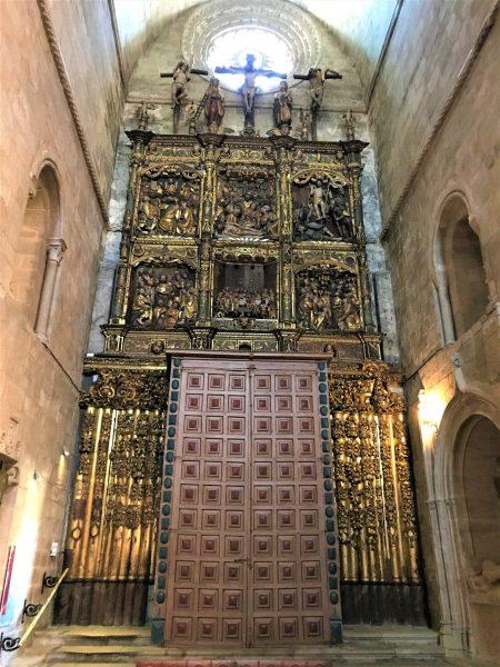 One of the 2 original altar pieces