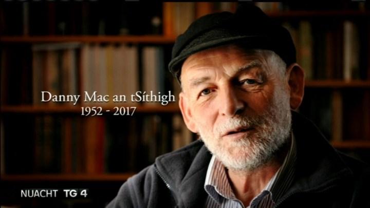 (Photo courtesy of Nuacht TG4- Irish News) Danny Sheehy