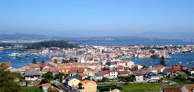 Illa de Arousa from the Mirador