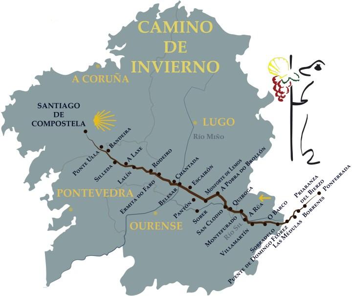 Camino de Invierno Route