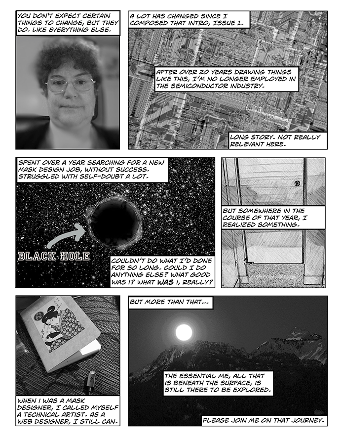 Musings In Grayscale Issue #1a