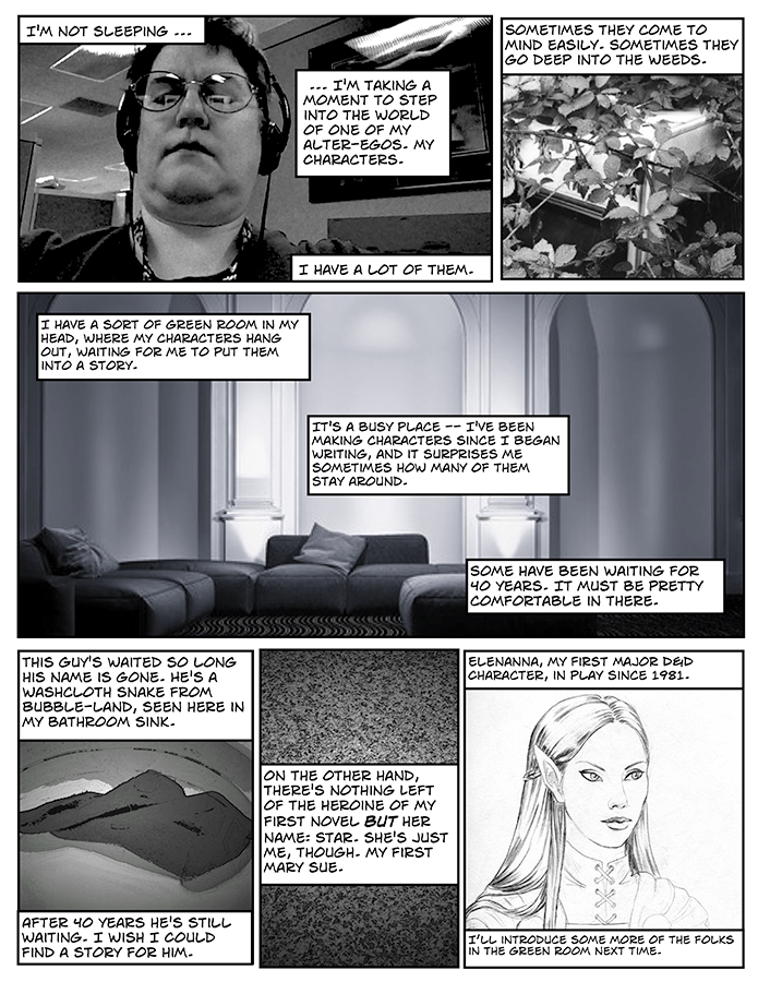 Musings in Grayscale comic issue 3