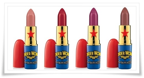 MAC Wonder Woman 5 MAC Wonder Woman Collection