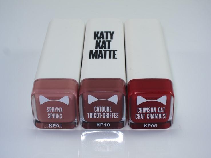 Katy Color Sensational Lipstick Shades