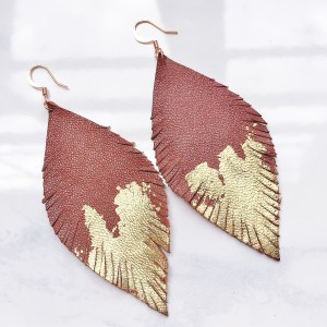 Music Festival DIY – Feather Earrings