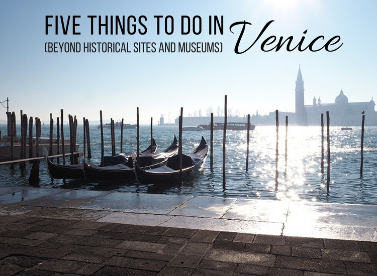 Planning a trip to Venice? Make sure you enjoy everything the city has to offer with the help of my roundup of the top five things to do in Venice.