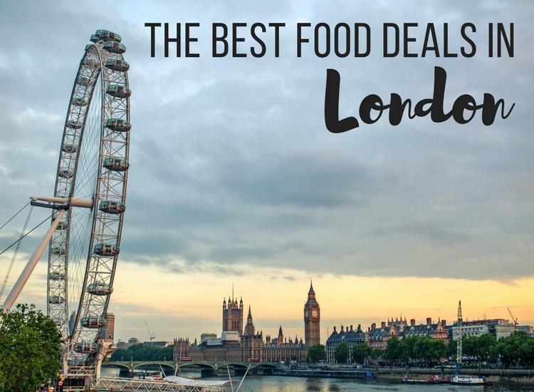 Best Food Deals in London - Main