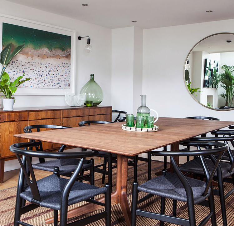 Bewitching London Home Tour - Dining Room