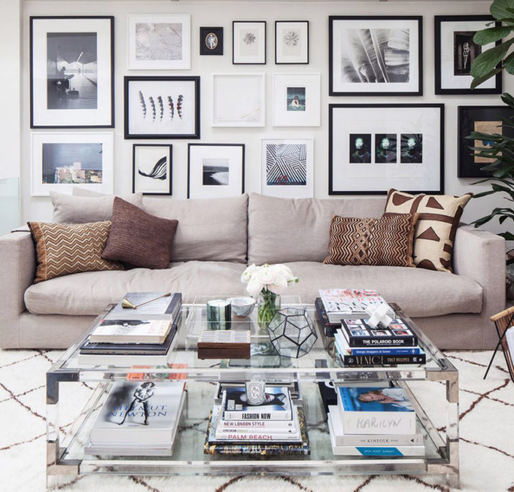 Bewitching London Home Tour - Gallery Wall