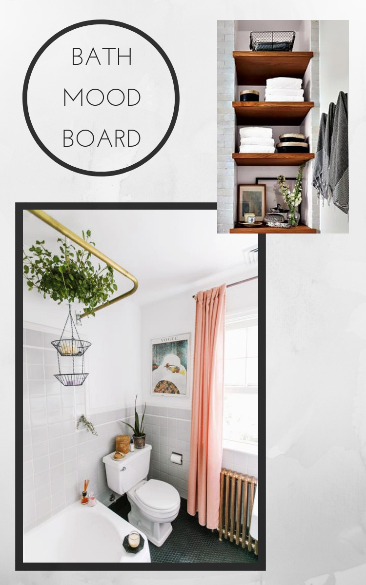 My Mid-Century Bohemian Bathroom Inspiration | Musings on ...