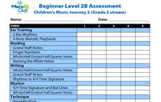 CMJV2-B: Assessment Grade 2 Stream