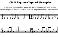 CMJV3: Rhythm Clapbacks