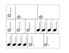 L1: Flashcards Rhythm Makers