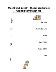 L1: TH Grand Staff Matchup