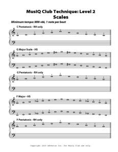 L2: Technique Scales