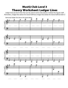 L3: TH Ledger Lines